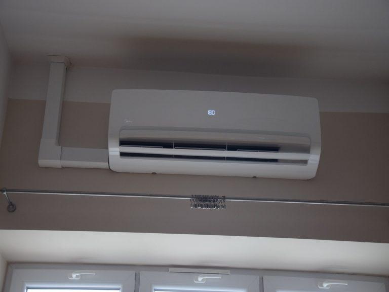 Klimatyzacja wewnątrz pomieszczenia