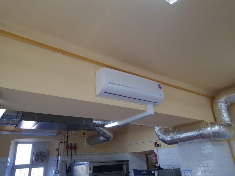 Wewnętrzny element instalacji - klimatyzacja
